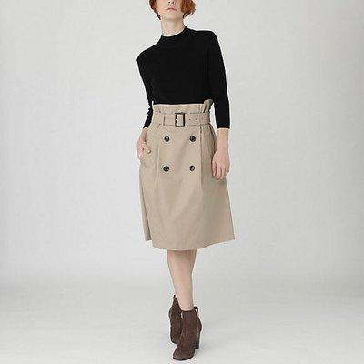 預購 日本限定 Blue Label crestbridge 毛混針織上衣 棉料裙 附腰帶 洋裝