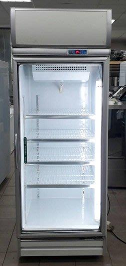 冠億冷凍家具行 [嚴選新中古機] 台灣製瑞興600L單門冷藏冰箱/冷藏冰箱/玻璃冰箱/220V