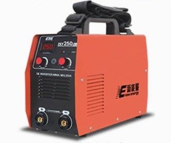 電焊機ZX7-250A逆變直流電焊機數字顯示輸出焊接電流最大250安培,新手也能輕鬆焊