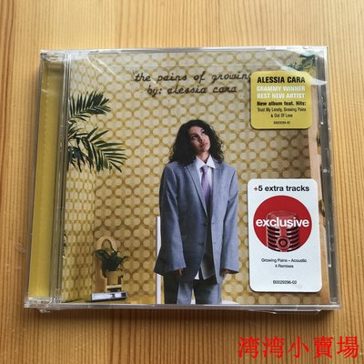 Alessia Cara Pains Of Growing Target 豪華 全新未拆 現貨灣灣小賣場、、