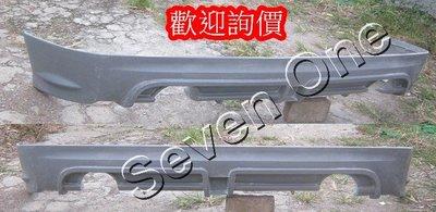 ☆ SEVEN ONE ☆ HONDA CIVIC 8代 K12 RR 雙管 後下巴 中包