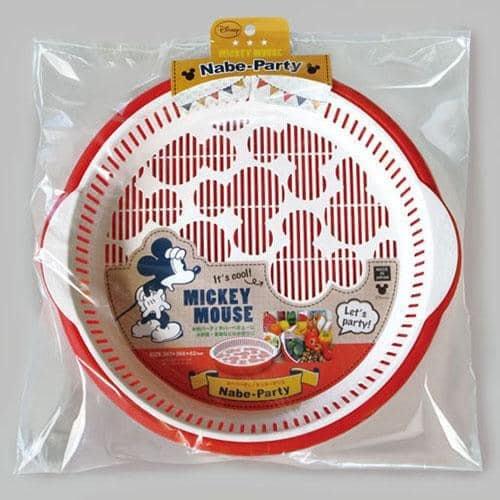 日本製 米奇 瀝水雙層 料理盤