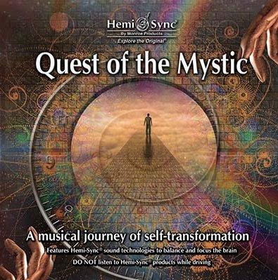 [心靈之音] 密境探索 Quest of the Mystic-美國孟羅Hemi-Sync雙腦同步CD福利品-全新已拆封