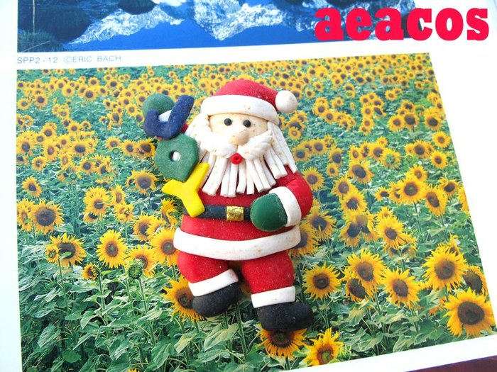 AEACOS@古董 古著 vintage retro MODs 聖誕節 聖誕佳節 聖誕老人 JOY 可愛 童趣 別針胸針