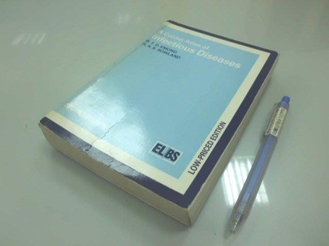 6980銤:B5-4ab☆1987年出版『A Colour Atlas of Infectious Diseases』