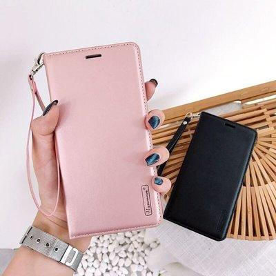 樂購】正版HM真皮系列 三星 Samsung Galaxy A80 A70 A60手機套 翻蓋皮套軟殼自動吸附插卡保護殼