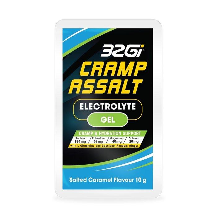 騎跑泳者 - 32Gi 電解能量包 藍色乖乖膠 (海鹽焦糖口味) 單包75元,補充能量、電解質,預防運動時抽筋
