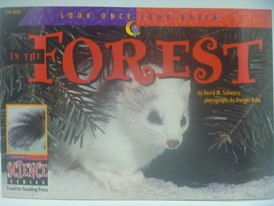 In the Forest-Look Once,Look Again Science Series〖少年童書〗CER