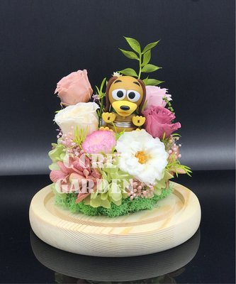 Toystory 反斗奇兵 系列 - 彈弓狗 Slinky Dog 保鮮花
