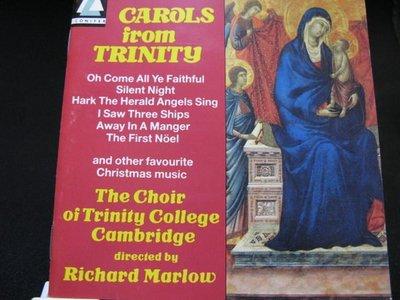 [好東西 CD 聖誕特價]  The Choir of Trinity College Cambridge 英版 Carols from Trinity  保存良好 無IFPI
