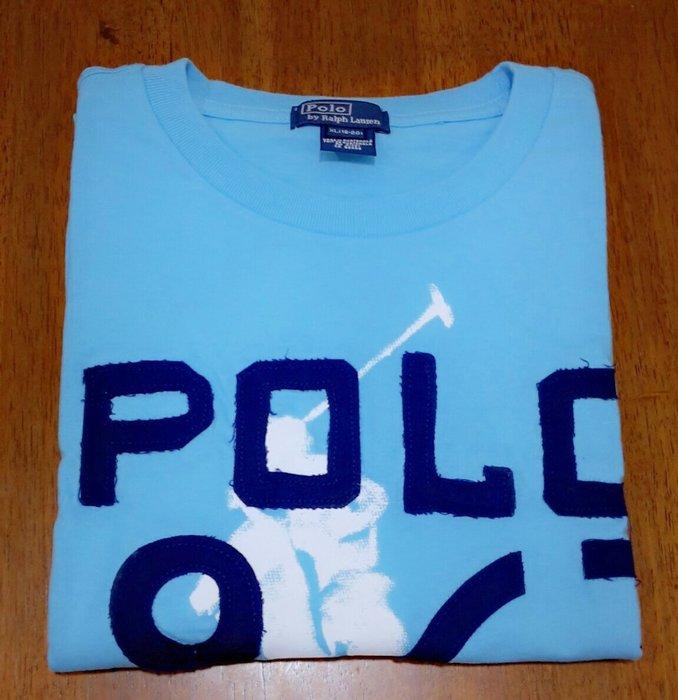 (BJGO) POLO Ralph Lauren_BOY20_Graphic Ringer Tee 經典大馬圓領T恤  新品現貨XL號-大人可穿