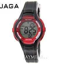 【JAYMIMI傑米】JAGA 捷卡 全新公司貨 甜心女孩運動多功能手腕錶 防水 M994 黑紅 免運