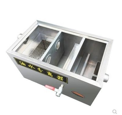 油水分離器環保油水分離器隔油池不銹鋼餐飲飯店過濾器商用廚房污水處理設備JDYHYSH