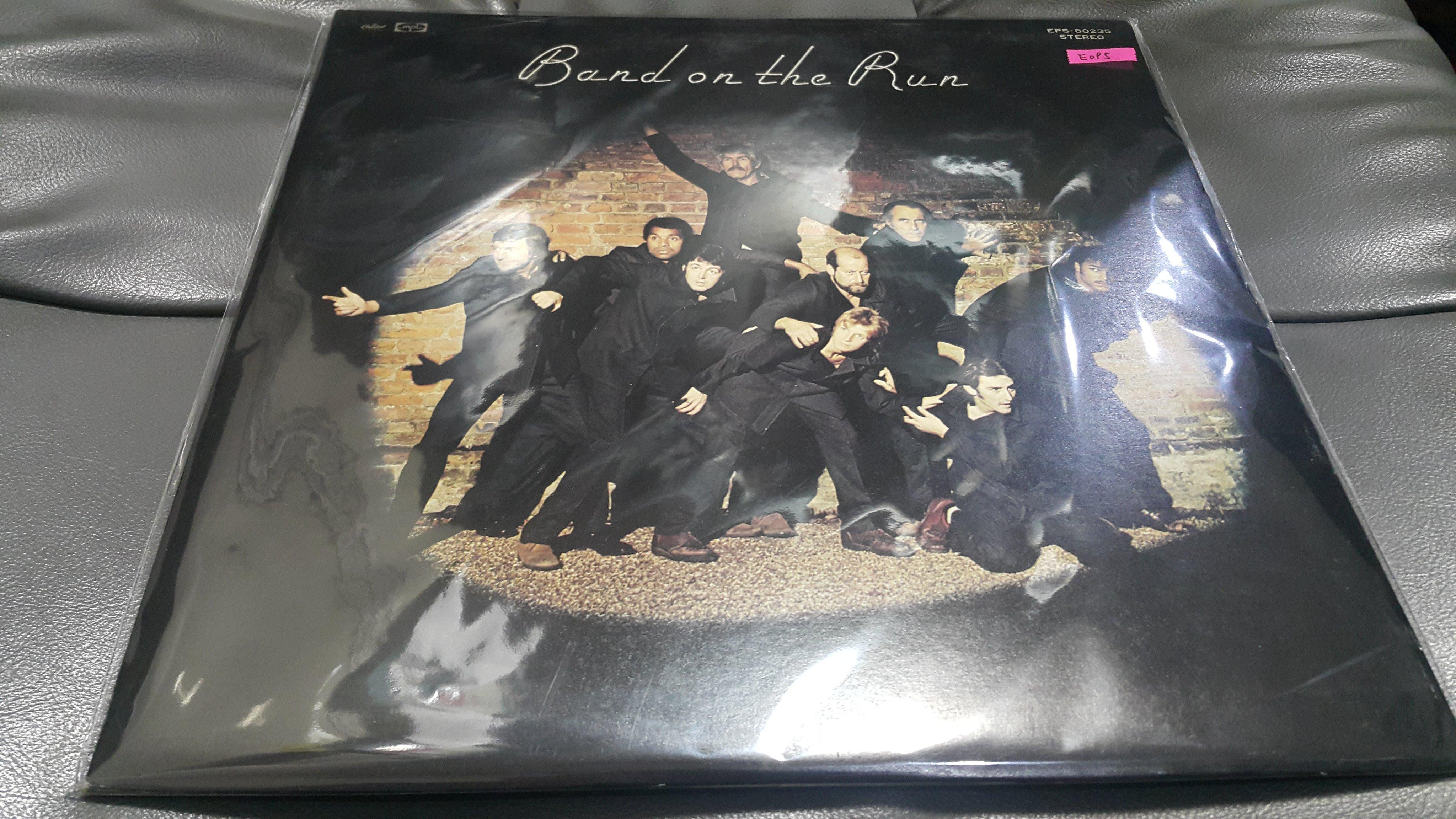 開心唱片 (PAUL MCCARTNEY & WINGS / BAND ON THE RUN) 二手 黑膠唱片 E095