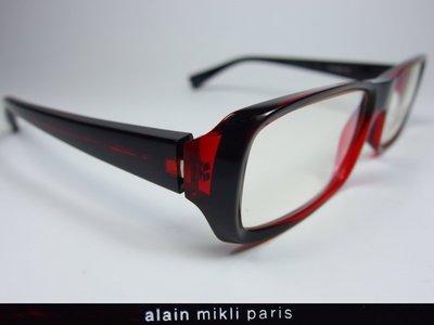 【信義計劃】全新真品 alain mikli 眼鏡 法國製 彈簧膠框 超越 Moscot Tart Dita 角矢甚治郎