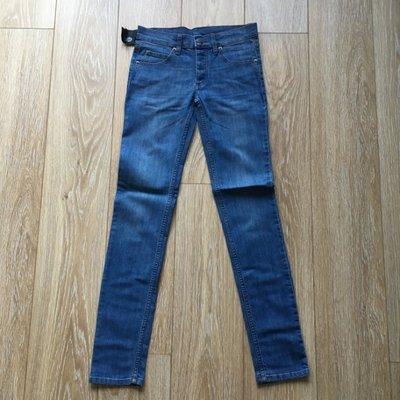 CHEAP MONDAY 瑞典 Narrow Cobra Blue 復古藍 牛仔褲 中性窄低腰 全新正品現貨282930