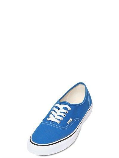 代購 VANS 藍色 經典帆布平底鞋