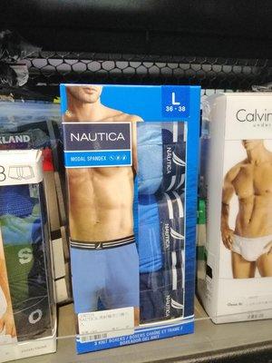 NAUTICA男針織平口褲 三件組 世界名牌 好市多