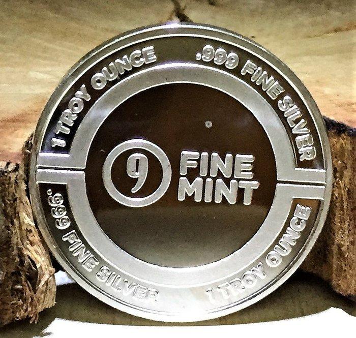 9Fine Mint 品牌 (Industrial Logo) 工業標誌銀幣 (1 toz)