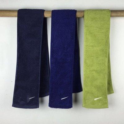 原單小確幸~耐吉NIKE 純色輕盈運動毛巾 小條方便攜帶 13*100cm 特價160(二條300)