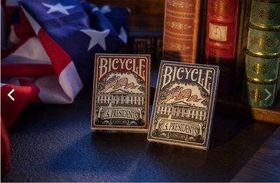 【USPCC撲克】Bicycle 藍象馬封標 US PRESIDENT 藍 凸盒  S102713
