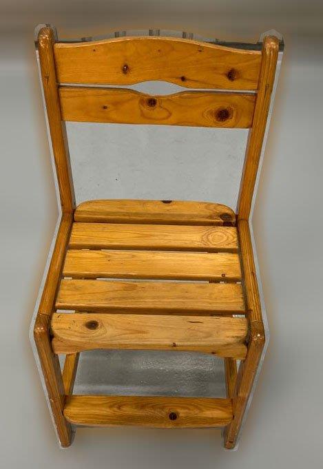 台中二手家具 大里宏品二手家具館 F112645*可調兒童椅* 二手各式桌椅 中古辦公家具買賣 會議桌椅 辦公桌椅