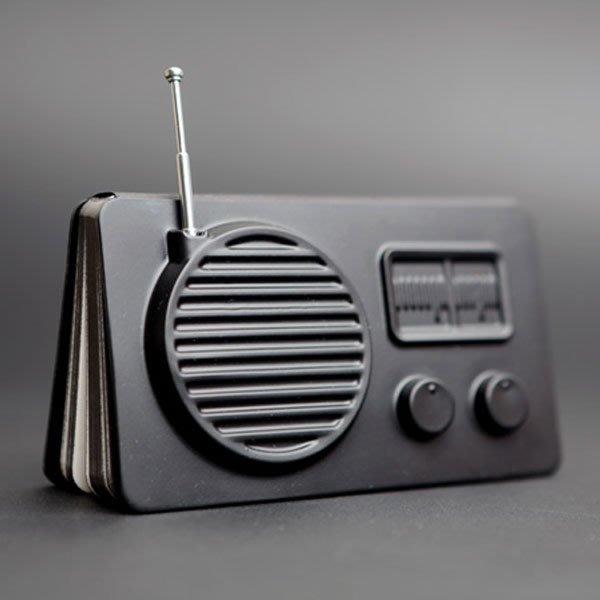 交換禮物 口袋 筆記 天晴 手繪本 設計 memo ( booxi 口袋系列筆記本 ) 收音機 10款 iHOME愛雜貨