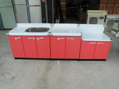 全新品  不銹鋼三件式流理台&二手家具台中權威 洗手槽 白鐵工作台 瓦斯爐台