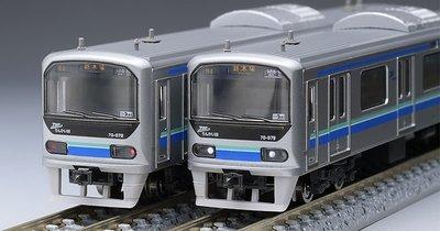 [玩具共和國] TOMIX 98764 東京臨海高速鉄道 70-000形(りんかい線)増結セット