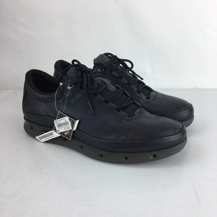 玉米潮流本舖ECCO O2 83130451052 黑色 犛牛皮 慢跑鞋