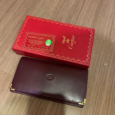 Cartier  正品 長夾