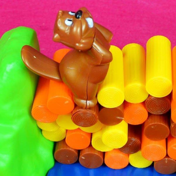 佳廷家庭 親子益智玩具模型專賣店 小海獺滾木平衡遊戲 手眼協調訓練 經濟部標檢局檢驗合格