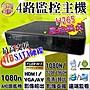 小蔡監視器材- HD200萬  高清百萬H.265 4路網...