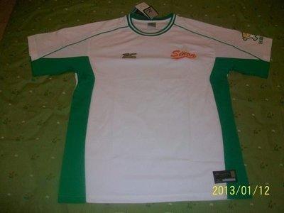 全新~中華職棒興農牛隊球員版練習球衣一件XL號~不是中華隊、實戰球、兄弟象、經典賽、王建民簽名球