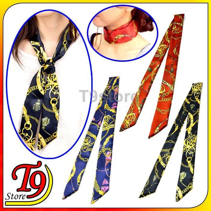 【T9store】韓國製 多種用途圍巾絲帶