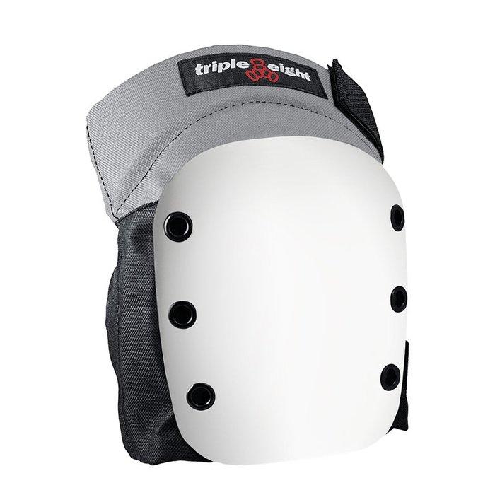 Triple 8(長板滑板/ 交通板/ 衝浪滑板/ Longboard) - Street 專用護膝 (灰白色)