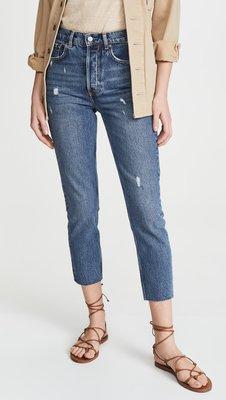 BOYISH 高腰 男朋友褲 HIGH RISE SKINY 美國加州品牌