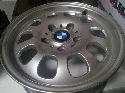 BMW E46 15吋鋁圈 15*6.5j ET:45 5/120 E36 E46直上 鍛造輕量化 整組8000