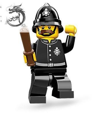 九州動漫 樂高 LEGO 71002 第11季 人仔抽抽樂 15# 警察 警務員 原裝未開封