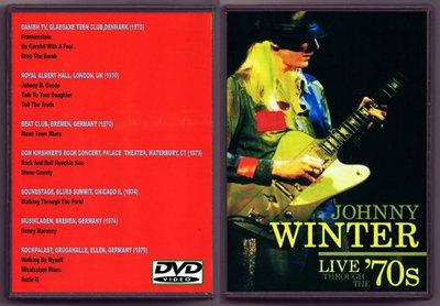 音樂居士#Johnny Winter - Live Through The 70`s () DVD