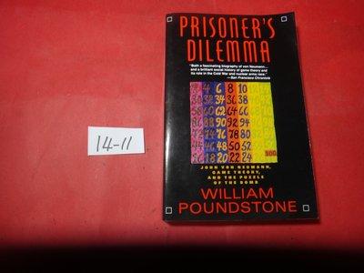 【愛悅二手書坊 14-11】Prisoner's Dilemma: John Von Neumann
