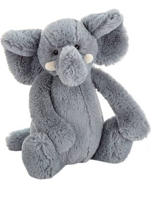 (預購)英國 JELLYCAT Bashful elephant 大象 31cm