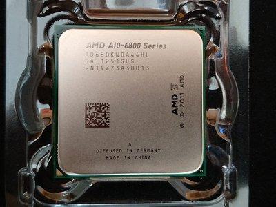 【含稅】AMD A10-6800K 4.1G AD680KWOA44HL 100W 四核四線 正式CPU 一年保 FM2