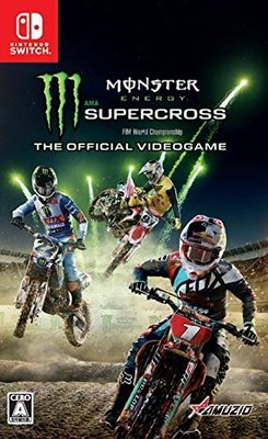 ☆代購幫日本代購代標☆Monster Energy Supercross The Official Videogame