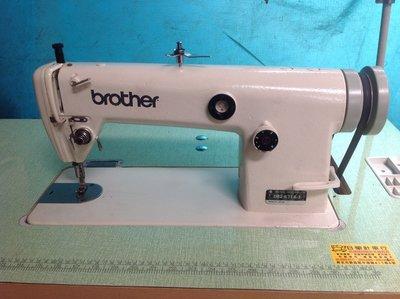 BROTHER工業平縫紉機、日本制 兄弟牌可車布厚薄可用、贈LED工作燈