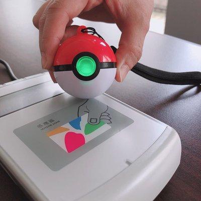 7-11 精靈寶可夢造型悠遊卡-3D寶貝球