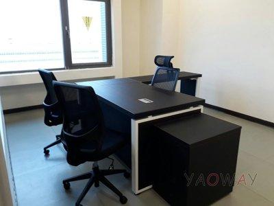 【耀偉】OTTO系統工作站 (辦公桌/辦公屏風-規劃施工-拆組搬遷工程-組合隔間-水電網路)5