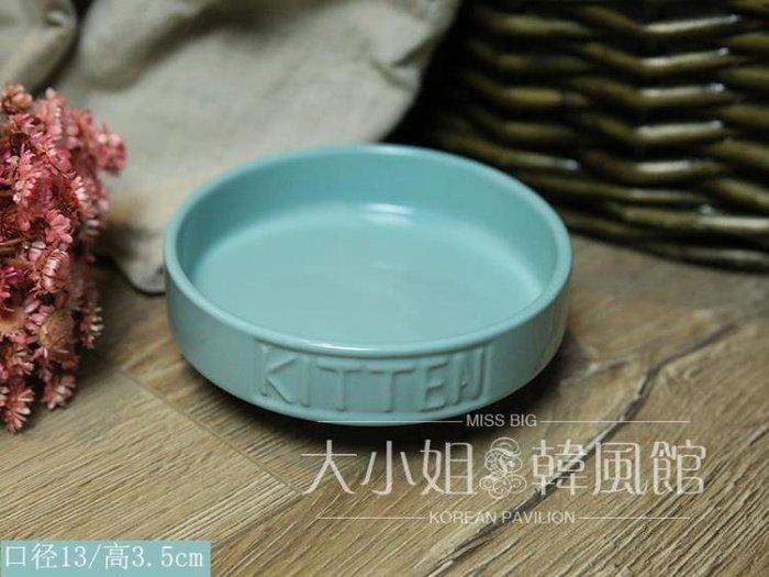 康派特貓碗狗食盆貓食盆陶瓷碗寵物碗貓狗糧泰迪碗貓水碗-大小姐風韓館