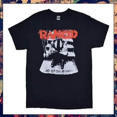 【三分之二】RANCID And Out Come The Wolves //復古潮流/Band/Tee