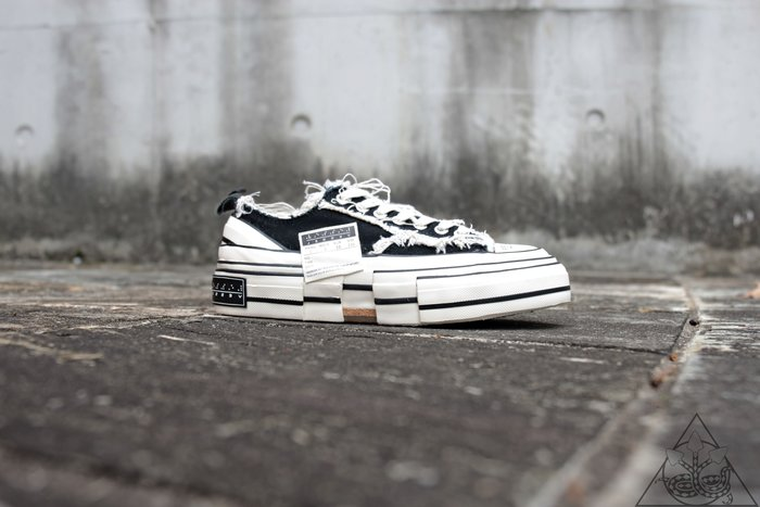 【HYDRA】XVESSEL G.O.P. Lows Black 吳建豪 帆布鞋【XVESSEL000】